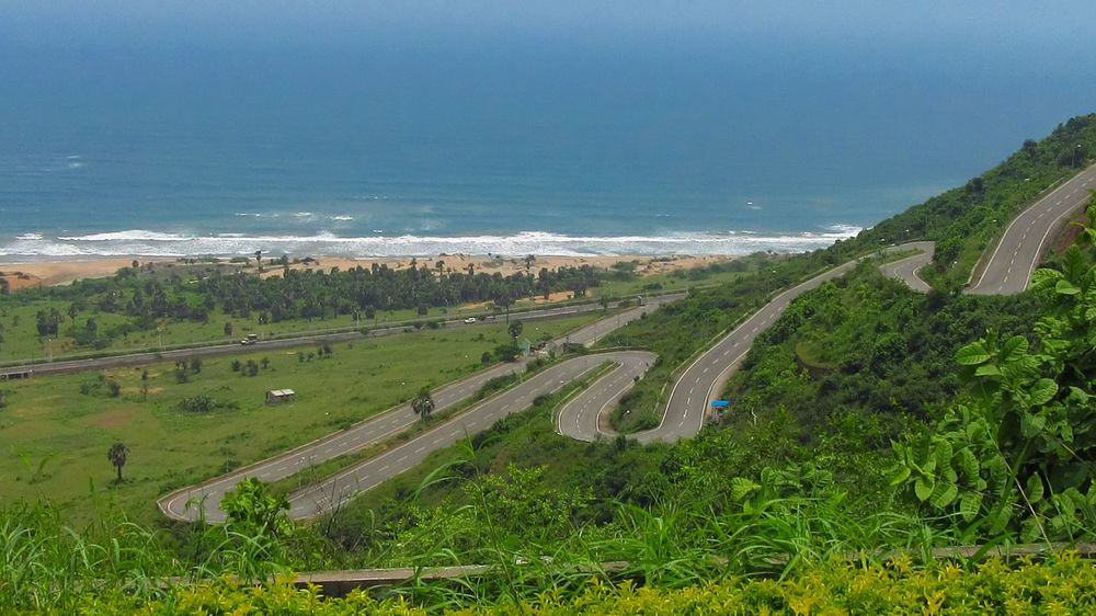 Water Beach Nature Sea Day Outdoors Landscape Sky No People Freshness Scenics City Tree The Week On EyeEm EyeEm Gallery EyeEm Hill Sea And Sky Seascape Road Roadtrip Backgrounds Tell The Story Eastern Ghats My Photo Commute Go Higher