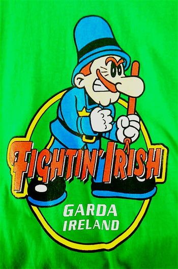 Fightin' Irish Garda Ireland Tshirt T_shirt T Shirts Ireland🍀 Tee Shirt Tshirts T Shirt Collection Tshirt♡ Tshirtoftheday T_shirt Tshirtmaniac