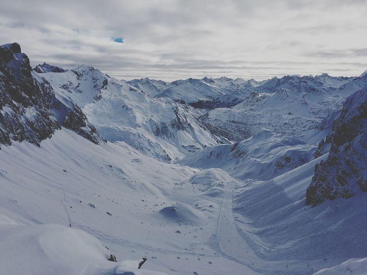 Skifoan View Goals Greetings Zürs Arlberg Snow ❄