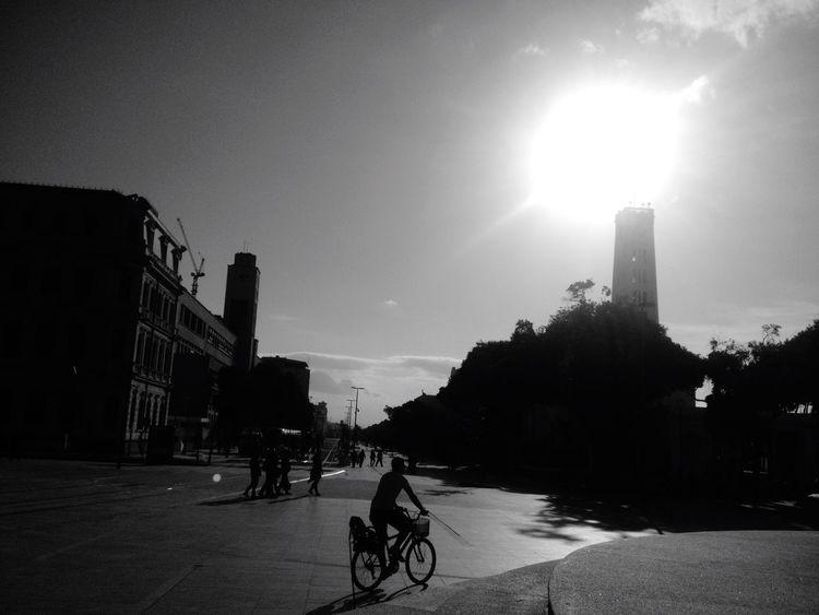 Feel The Journey Enjoying Life Enjoying People Nature City Bike Praça Mauá