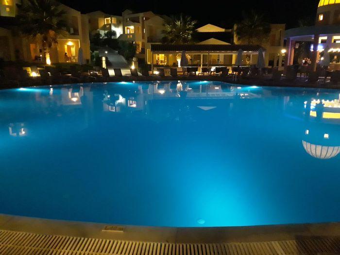 Swimming Pool Water Night Luxury Nightlife An Eye For Travel