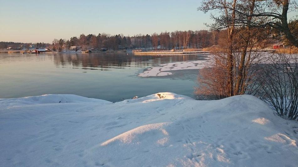 It's Cold Outside Baltic Sea Trälhavet