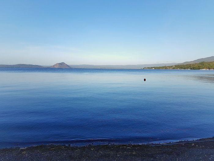 Taal Taal Volcano Taalvolcano Taal Lake TaalLake  Taal Lake Batangas Lake Lake View Lakeshore Lakeside GoodMorningWorld Philippines EyeemPhilippines Eyeemph Travel Traveling Serene Calm Calm Water Calmness