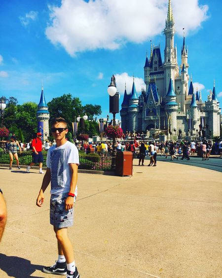My girlfriends house is pretty big Castle Cinderella Disney World Love You Hanging Out Enjoying Life