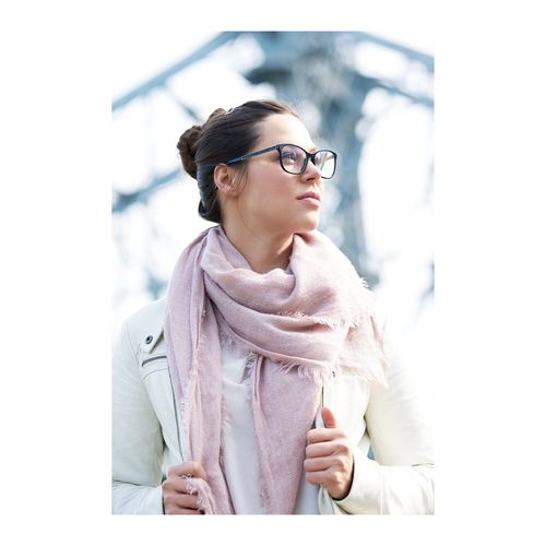 Eyeglasses  One Person Eyewear People Built Structure Bridge - Man Made Structure One Woman Only
