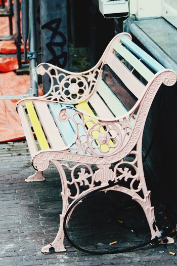 Hello World Check This Out Amsterdam Bench Have A Seat Colorful Taking Photos Enjoying Life Summer ☀