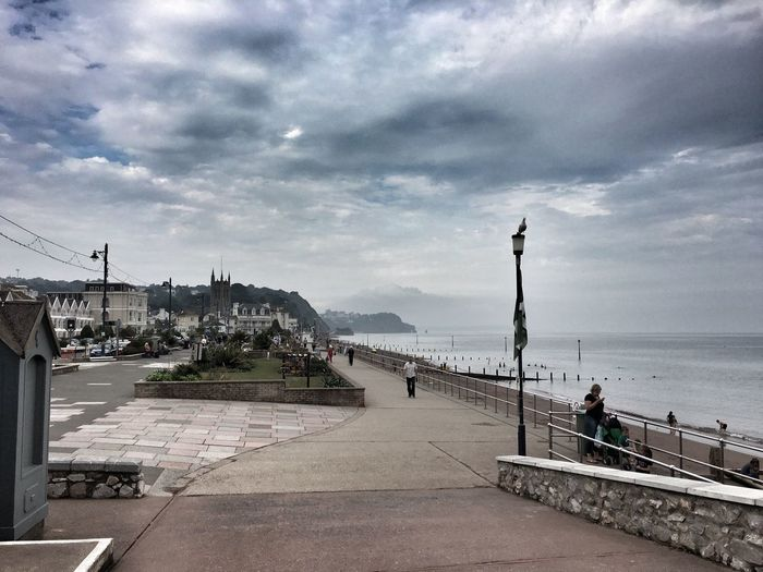 Teignmouth Beachphotography Beach Life Sky And Clouds IPhoneography