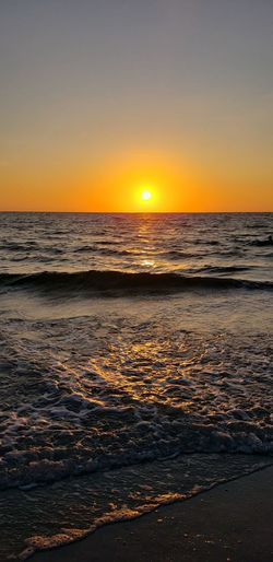 Dark sea Bright