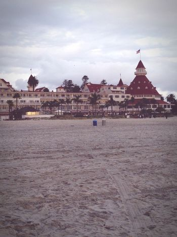 Hotel Del Coronado Coronado California Outdoors Photograpghy  Building Exterior Architecture Built Structure Sky Travel Destinations Waterfront Cloud - Sky No People Outdoors IPhoneography Enjoying Life Interesting Objects Postcode Postcards The Architect - 2018 EyeEm Awards