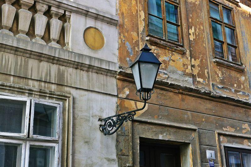 Architecture Brown Building Croatia Façade House Lamp Old Building  Osijek