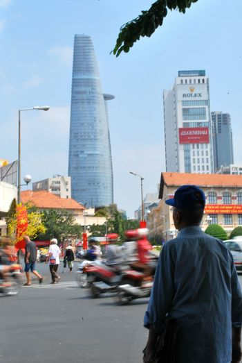 The Southern Capital - Ho Chi Minh City Travel Travel Photography Old And New City Life Traffic Focus Moving Traffic Modern Old Man Vietnam Ho Chi Minh City Towers Towers And Sky Street Photographer-2016 Eyem Awards