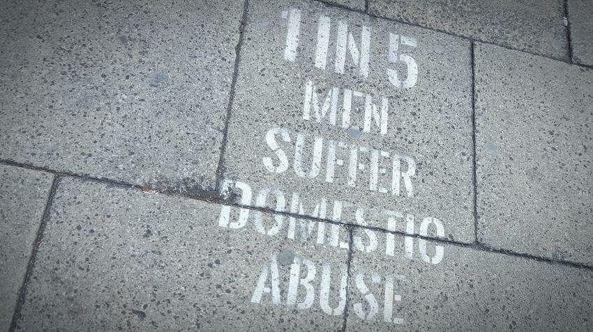 Graffiti Path Pavement Pavement Art Message Text Awareness Statistics