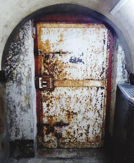 Belfast Northern Ireland Old Jail Rusty Damaged Weathered Historical Building Crumlin Road Gaol Abandoned Door Doors Doorporn Doorway History Old Buildings Indoors  Old Doors Rust Character No People Bad Condition (null)Rusty Metal Outdoors