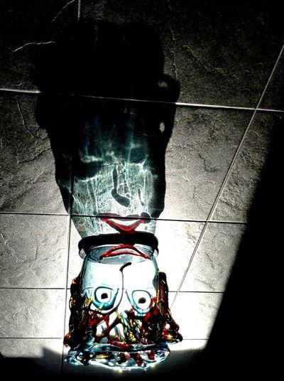Creative Light And Shadow Exploring Light And Shadow Design Crystal Jar ArtWork