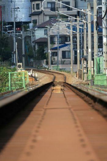陽炎 Summer2015 Railway 単線 八高線 From My Point Of View PowerShot G3 X