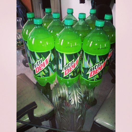 Stocked up on the MountainDew. Im telling you I cant get enough of it! Mountaindew  MD