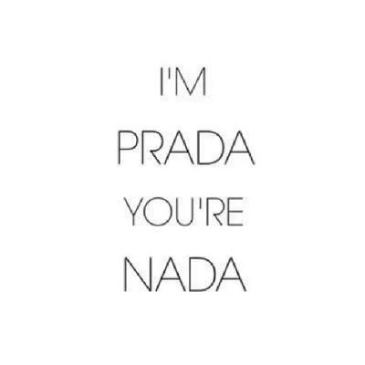 you're nada! haha great!