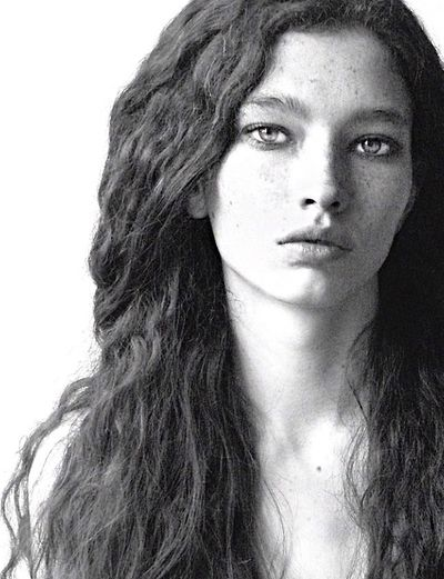The girl from Colorado/ Nichole@ Elite NYC Beautiful Girl Multiethnic Frecklesfordays Cat Eyes Wild Wavy Hair Exotic Unique Great Face  Leicacamera Black & White Portrait Of A Woman Portrait NewFace Wow😊 Model Grainy The Portraitist - 2016 EyeEm Awards