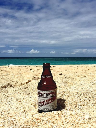 San Miguel Beer Life Is A Beach