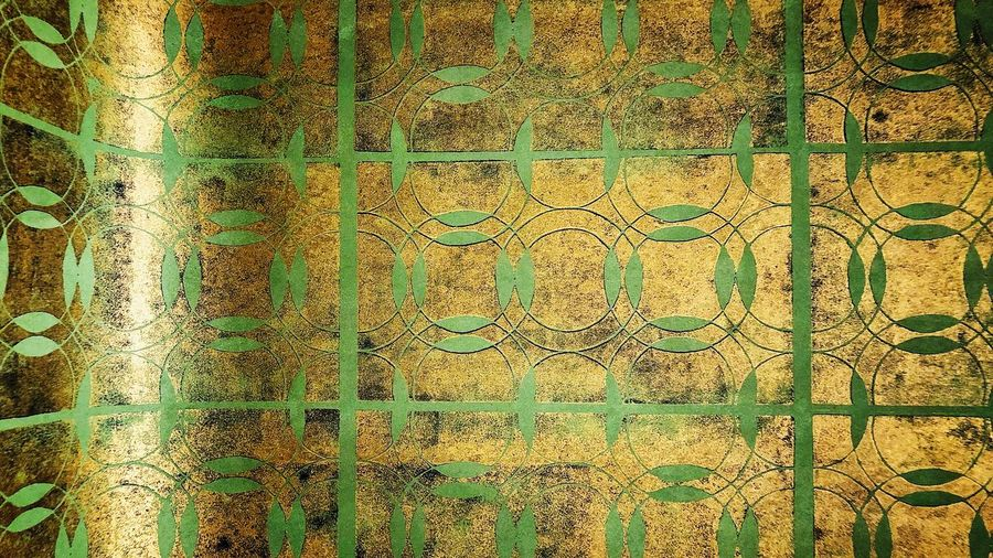 """Handmade Wallpaper zubersalzmann"" Woodenstamps Stencil Interior Interior Design Design Heritage Designer  Design Wallpaper Handmade Wallpaper Handmade Wallpaper Full Frame Backgrounds Day Built Structure No People Outdoors Architecture"