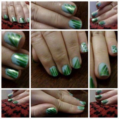 Eyeem Market Wolfzuachis Collage Colaj Nailpolish Fingers Nailart  Green Nails Closeup Nail Polish Nailsart Nail Art @wolfzuachis Cute