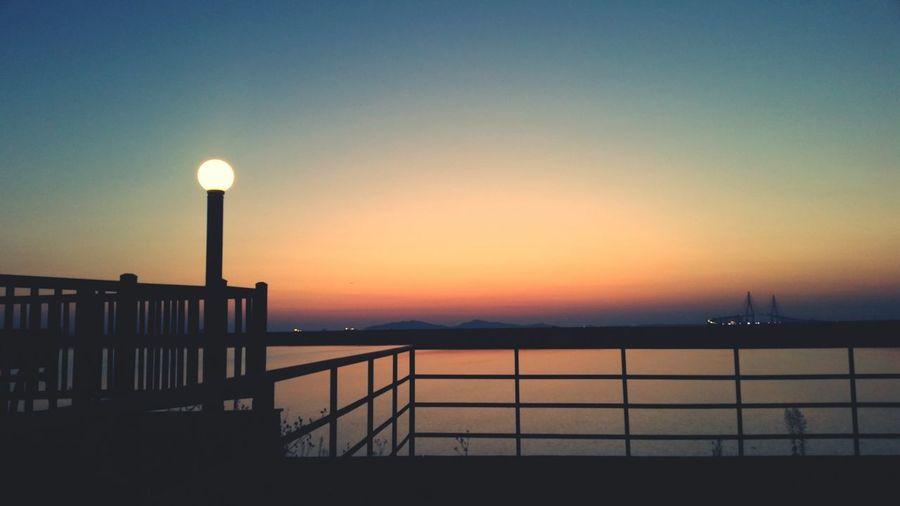 송도 인천대교 Sunset Incheon