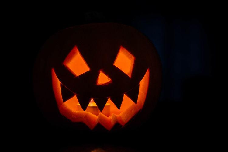 Candlelight Close-up Halloween Night Orange Pumpkin Pumpkin Carving Pumpkin Head Pumpkins Samhain Scarey The Week On EyeEm