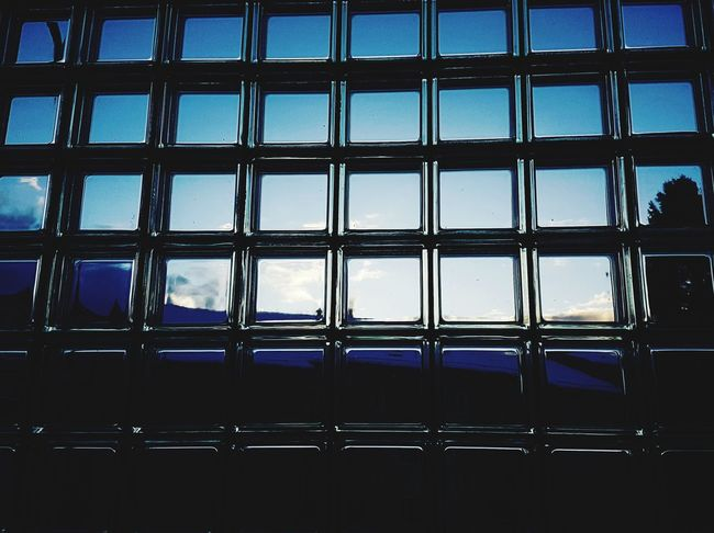 Glass - Material Window Backgrounds Full Frame Pattern Indoors  Cloud - Sky Sky