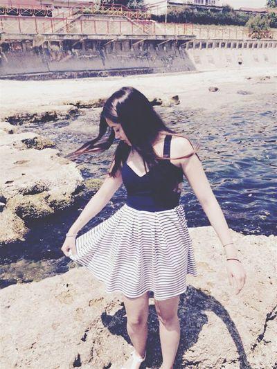 Summer ☀ Summer2015 Relaxing Enjoying Life Sea Air Sand Saltyhair Salty Water