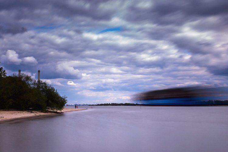Fast ship Cloud - Sky Reflection Landscape_photography Outdoors Wizardsoftones Createcommune Wanderlust Jusstgoshoot Canonimages Nature Water Landscape