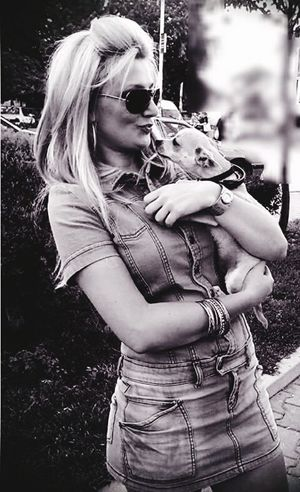 Hi! Me And My Dog I Love My Dog Funny Dog Funnytime Love♡ Enjoying Life Ciao 😎 🐩👱❤💋