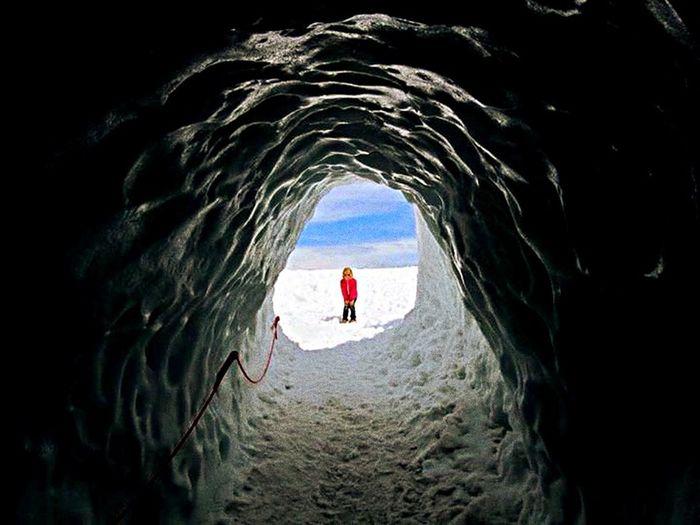 Vanishing Point Dachstein Childhood Hiking Kindheit Wandern Berge Gletscher Mountains Portrait Of A Friend