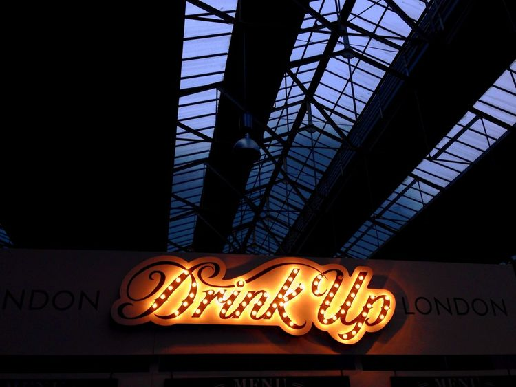 If you insist... Streetlife Spitalfields Market London Cocktailweek Cocktails Drinkup Architecture Londondesign Lettering