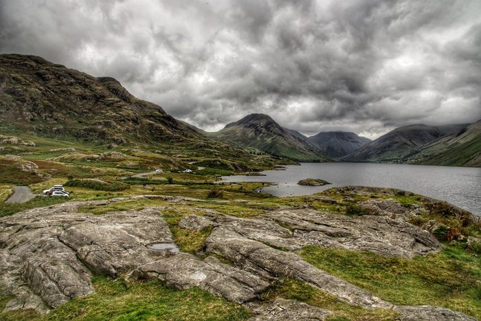 Mountain Beauty In Nature Landscape Landscape_photography Lake Outdoors Tranquil Scene Moody Sky Nikon Mountain Range Lakedistrict England Beauty In Nature Summer August Personal Perspective Art Water The Week On EyeEm