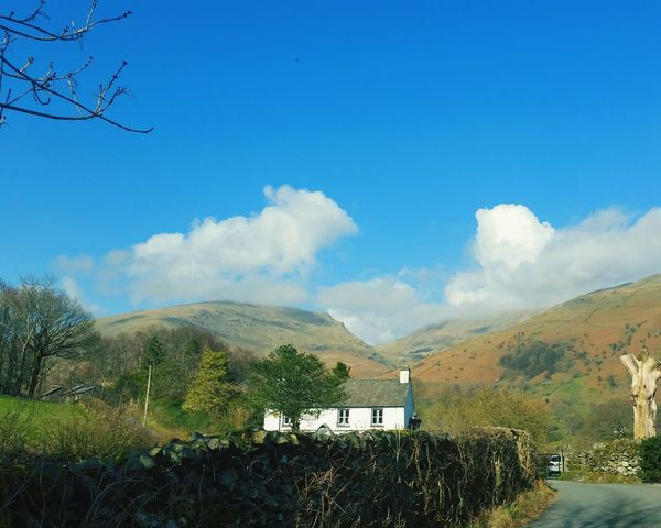 Lake District Grasmere The Lake District  Blue Sky Northern England Blue Wave