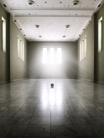 Indoors  Flooring Empty Absence Ceiling Architecture Window Office No People Built Structure Business Day Basketball Light Up Your Life Light In The Darkness EyeEm Selects