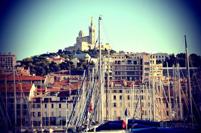 Marseille Vieux Port Port Bonne Mere