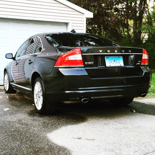 My baby nice and clean. Volvo S80 Volvoforlife T6