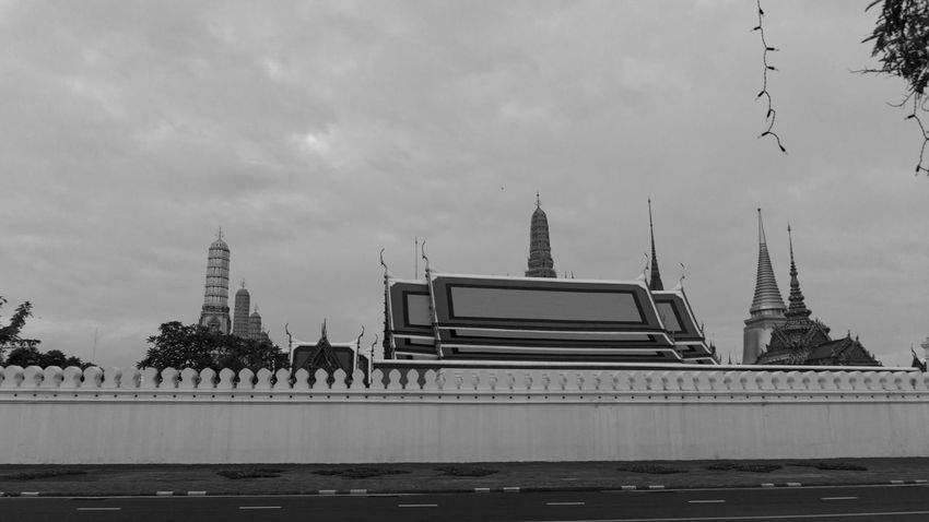 Architecture Building Exterior Built Structure Day Grand Palace Bangkok Thailand King Bhumipol Adulyadet No People Outdoors Place Of Worship Religion Sky Spirituality