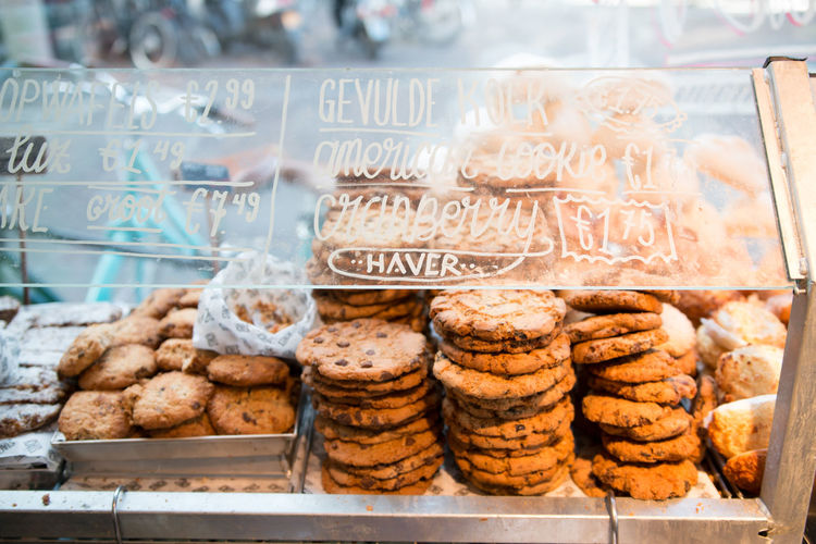 Bakery Choice Cookie Food Food And Drink Freshness Indoors  Nederland Snack Store Sweet Sweet Food Variation