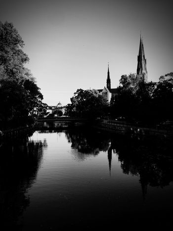 Shades Of Grey Uppsala, Sweden Uppsala Domkyrka Uppsala Cathedral Blackandwhite Black And White Black & White Blackandwhite Photography