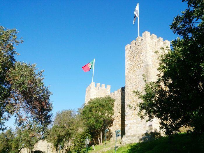 Castelo De São Jorge Lisboa Lisbon