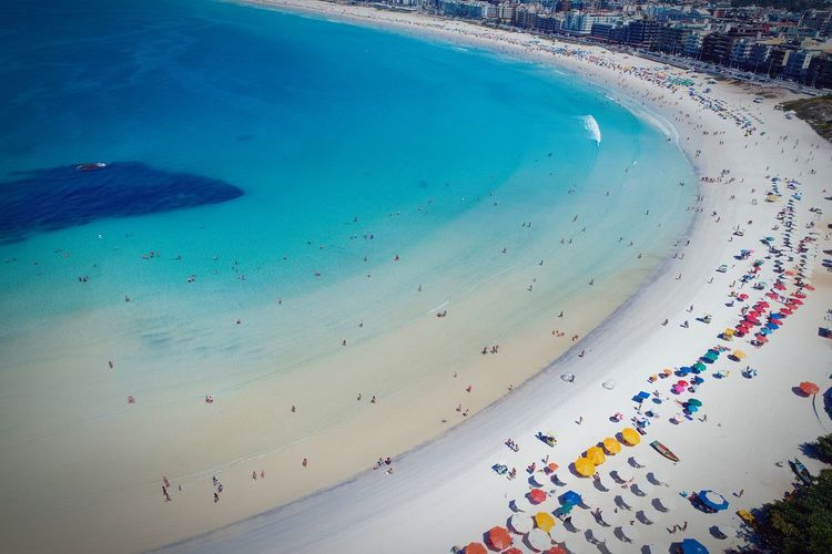 Vôo em Cabo Frio, Rio de Janeiro, Brazil Sky Aerial Shot Aerial Photography Clouds And Sky Beach Beachphotography Beach Photography Beach Life Caribbean Sea Caribe Sea Seascape Sea Life Sky And Clouds Blue Sea Aerial View Day Multi Colored People Outdoors Water Nature An Eye For Travel