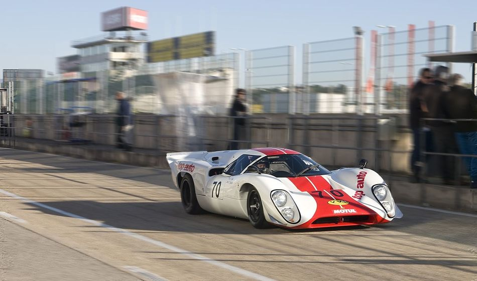 Motor Sport Classic Car Competition Lemans