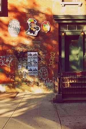 Wall and door...