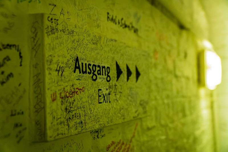Graffiti Exit