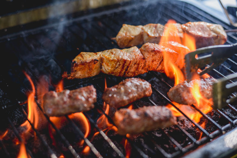 Barbaque Barbecue Barbecue Grill Barbecue Season Barbecuetime BBQ BBQ Time Cevapi Coal Cooking Fire Fire - Natural Phenomenon Flame Grill Grilled Grilled Chicken Grilled Meat Grilling Grilling Out Heat - Temperature Kitchen Meat Preparation  Smoke Cevapi