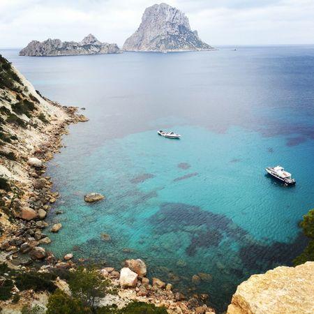 Ibiza Ibiza, Spain Ibiza2017 Vacations The Week On EyeEm Beach Photography Holiday Holidays ☀ Sea Blue Sky Blue Wave Mountain Big Blue Sea