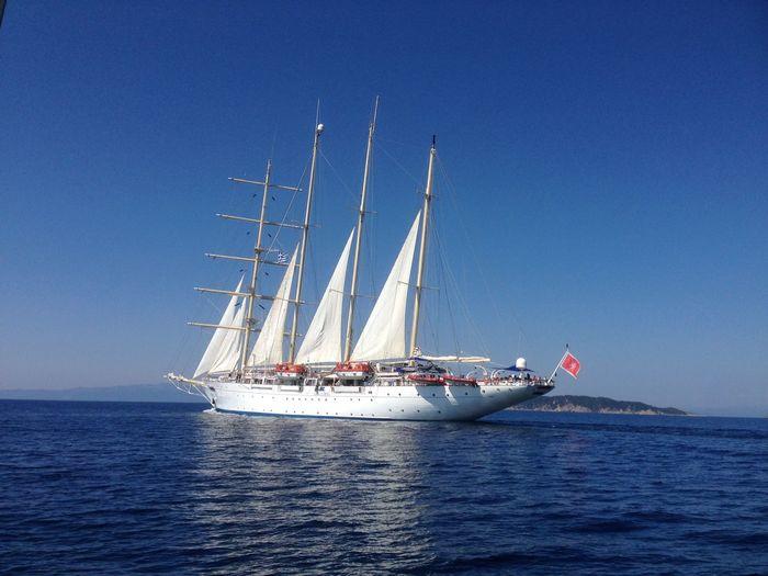 Clipper Boat sea Skiathos