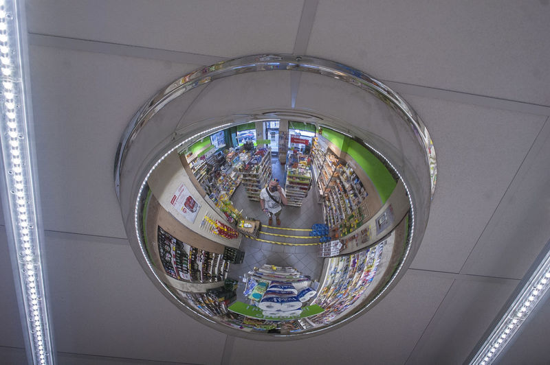Ufo Mirror A New Perspective On Life City Close-up Architecture Built Structure Spiral Staircase Geometric Shape
